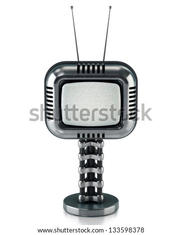 Sci-fi tv concept - stock photo