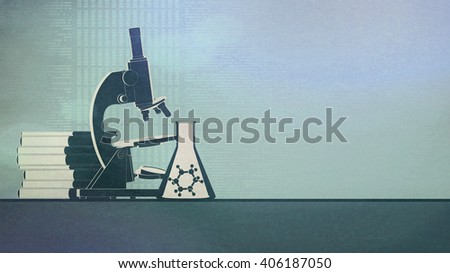 Science abstract background.