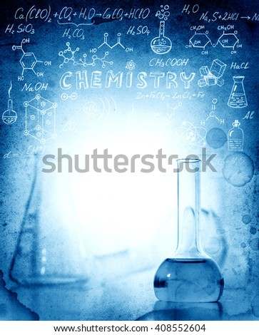 Science and medical background. - stock photo