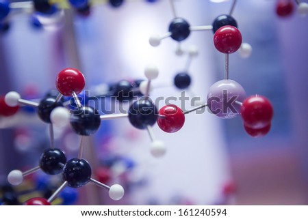 Science Molecular DNA Structure - stock photo