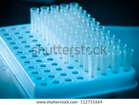 science test background loading solutions tubes