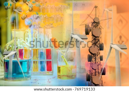 Scientific experiments chemical structure hazard symbols stock photo scientific experiments with chemical structure and hazard symbols periodic tables and telephone towers urtaz Image collections