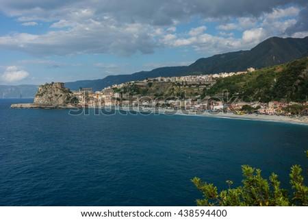 Scilla in Calabria - stock photo
