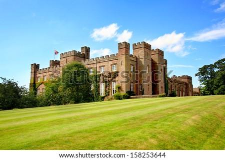 Scone Palace in Scotland - stock photo