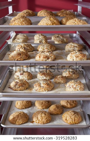 Scones Cooling on Rack