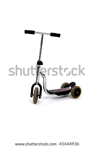 Scooter - stock photo