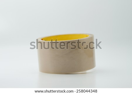 Scoth tape role for repair something. - stock photo
