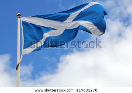 Scotland flag - stock photo