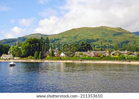 Scotland - Loch Lomond - stock photo