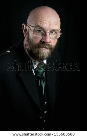 Scotsman - stock photo