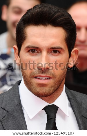 Scott Adkins arriving for the UK Premiere of The Expendables 2 at the Empire Cinema in, Leicester Square, London. 13/08/2012 Picture by: Steve Vas