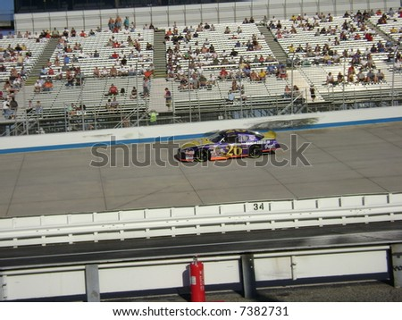 scott bouley at the track at dover