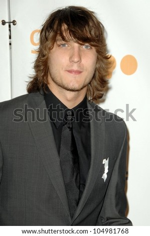 Scott Michael Foster  at the 20th Annual GLAAD Media Awards. Nokia Theatre, Los Angeles, CA. 04-18-09
