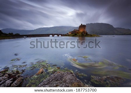 Scottish Castle II - stock photo