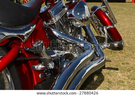 SCOTTSDALE, AZ - APR 2: The 13th annual Arizona Bike Week Cyclefest April 2, 2009 in Scottsdale. It is one of the largest motorcycle events attended by custom bike builders and motorcycle enthusiasts.