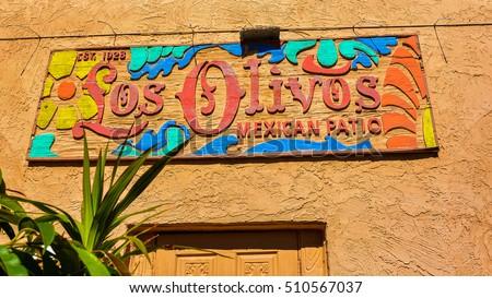 5, 2016: Los Olivos Mexican Patio. It