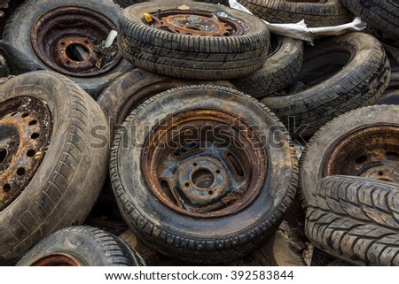 Scrap Auto Car Parts Rear Axle Stock Photo 392583214 Shutterstock