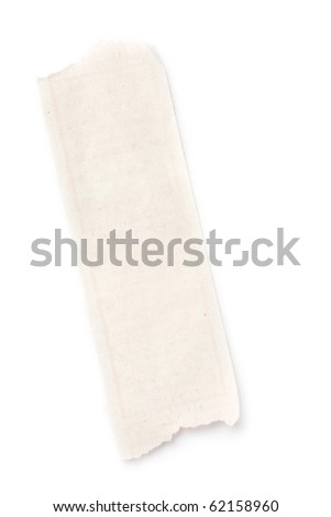 Scrap isolated on white background