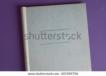 Scrapbook Cover Retro Look Close Vintage Stock Photo Royalty Free