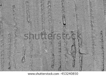 Scratch and ripped paper black and white texture background - stock photo