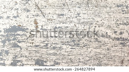 Scratched and dust stain wood