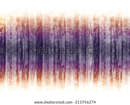 Scratched gradient stripe on simple white background. Grungy texture design. - stock photo