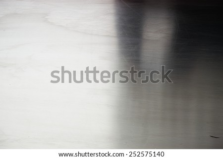 Scratched metal is not new, rough background - stock photo