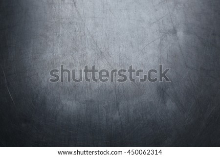 scratched metal texture. - stock photo