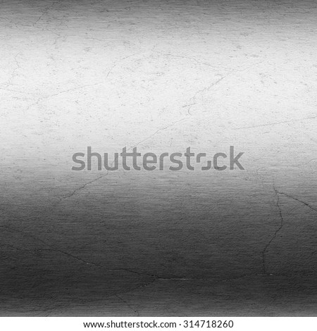 scratched metal texture black and white background - stock photo