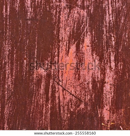scratched red wall. red dye grunge texture background. dye vintage. design element for 3d - stock photo