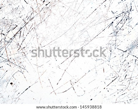 Scratched texture - stock photo