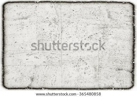 scratched weathered monochrome wall - stock photo