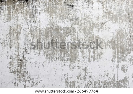 Scratched white background - stock photo