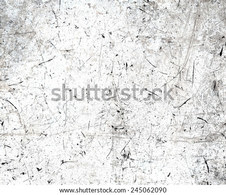 Scratched white texture - stock photo