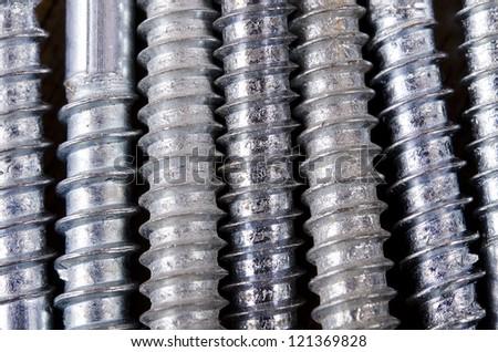 Screw texture - stock photo