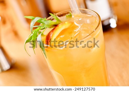 Screwdriver cocktail - stock photo
