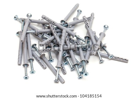 screws with plastic dowels