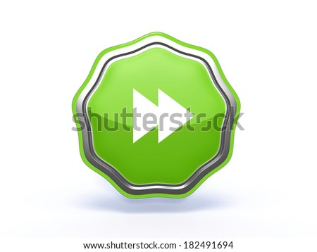 scroll star icon on white background