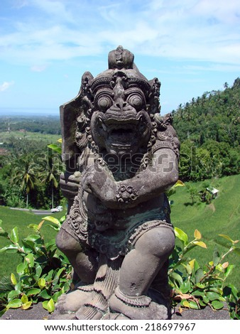 sculpture in Bali