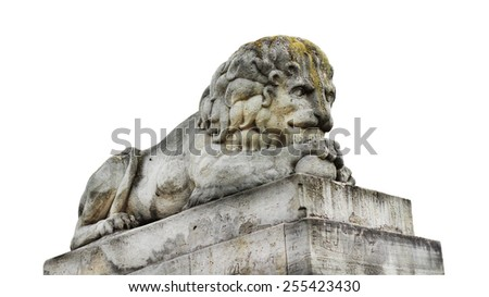 Sculpture of Stone Lion