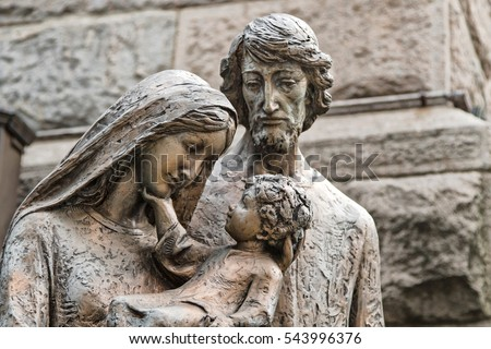 stock-photo-sculpture-of-the-holy-family