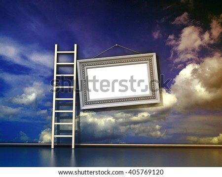Scy background - stock photo
