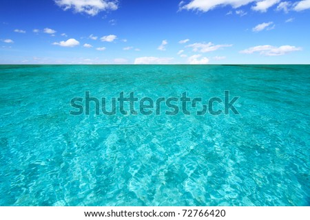 Sea at south of thailand - stock photo