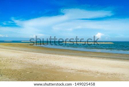 Sea beach - stock photo