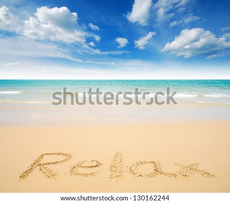 sea beach in thailand sea sand sun blue sky cloud relaxation sunlight tourism background