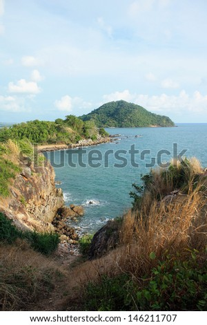 sea coast in thailand