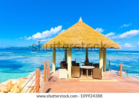 Sea Exotic In Paradise - stock photo