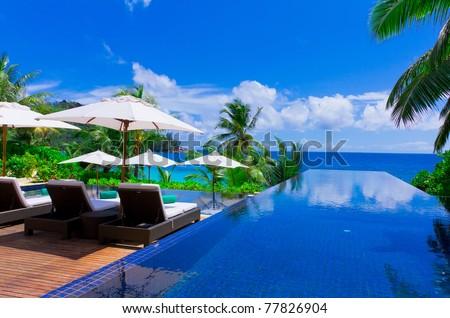 Sea Exotic Rest - stock photo