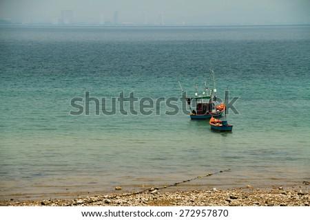 Sea Fishing Boat - stock photo
