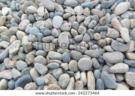 Sea gravel pebbles - stock photo
